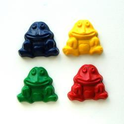 Frog Party Favors - Package of 12 Frog Shaped Crayons
