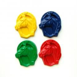 Horse Party Favors - Package of 12 Horse Shaped Crayons